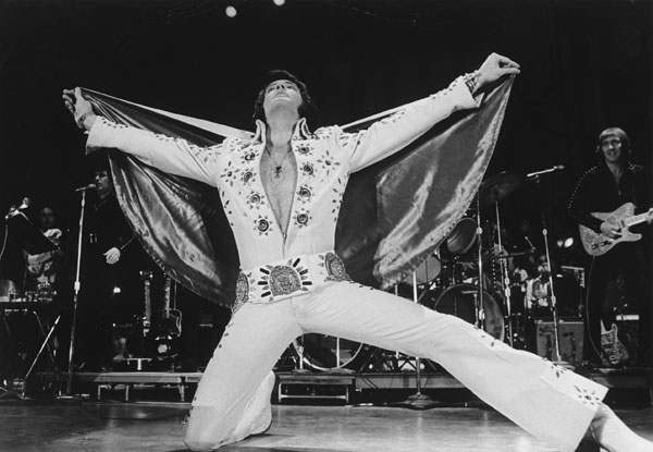 Not this Elvis. That's a different project.