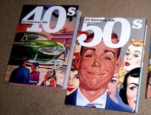 ALL-AMERICAN ADS BOOKS (3)